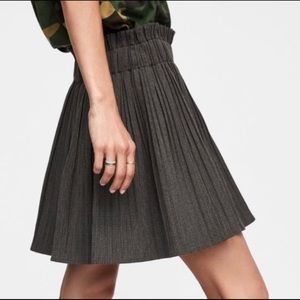 NWT Pleated Zara Micro Mini Skirt Skort